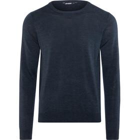 Bergans Fivel Wool Long Sleeve Men Dark Blue Mel